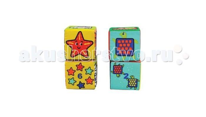 Развивающая игрушка KS Kids КубикиКубикиКубики пазлы K`s Kidsпредназначены для малышей от 1 года. Это развивающая игрушка, состоящая из шести кубиков, которая в веселой форме научит Вашего малыша многим полезным вещам.    Особенности:   Крупные разноцветные пазлы конструктора привлекут и развлекут малыша.   В наборе классические кубики, составные картинки, математический и дидактический материал в одном комплекте.   С такими подручными средствами ребенок может собрать изображения трех забавных персонажей, подобрать пары с морскими жителями, цифрами, выстроить ряд с шестью разными машинками построить башенку из шести кубиков.   Приятный на ощупь материал способствует развитию тактильных ощущений, мелкой моторики пальцев, мышления, воображения, логики, а яркие краски стимулируют цветовое и зрительное восприятие<br>