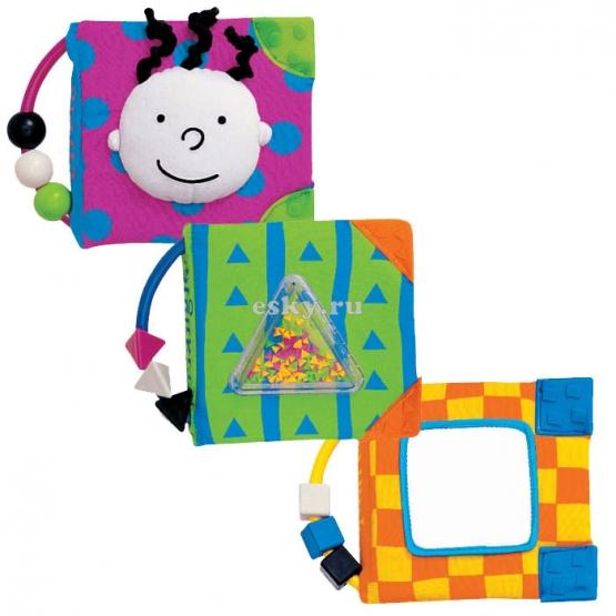 Книжки-игрушки K'S Kids Набор мягких книжек