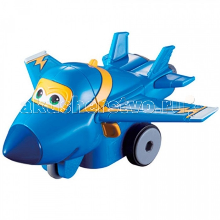 Super Wings Инерционный самолет Джером