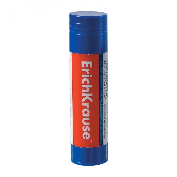 Erich Krause Клей-карандаш 15 гКлей-карандаш 15 гС помощью клея-карандаша Erich Krause очень удобно склеивать бумагу, картон, ткань в различных сочетаниях, наклеивать фотографии.   Выдвижной механизм на нижней части тубы позволяет оптимально регулировать длину клеящего столбика.   Клей не оставляет следов на поверхностях, обеспечивает прочность соединения, быстро высыхает и не содержит растворителей.<br>