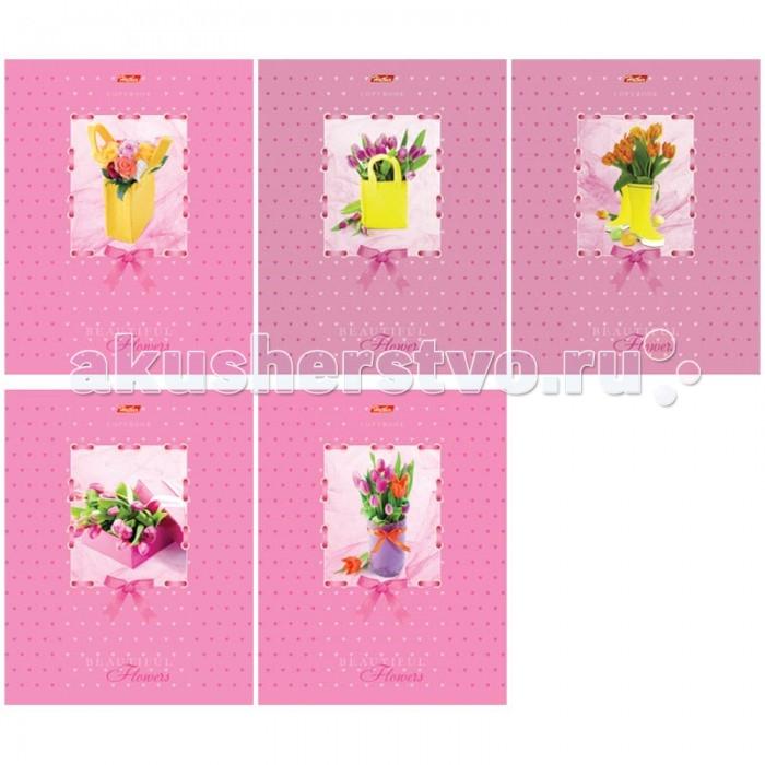 Hatber Тетрадь Прекрасные цветы А5 (48 листов)