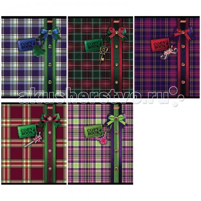 Hatber Тетрадь Шотландка А5 (клетка, 48 листов)