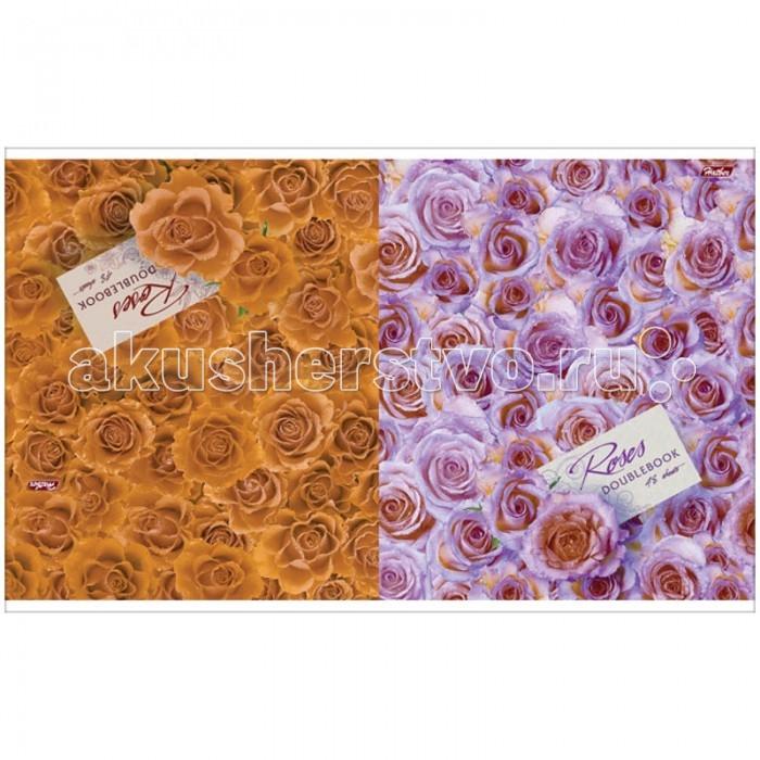 Hatber Тетрадь двойная Океан роз А5 (48 листов)
