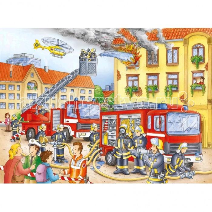 Ravensburger Пазл На пожаре 100 элементов