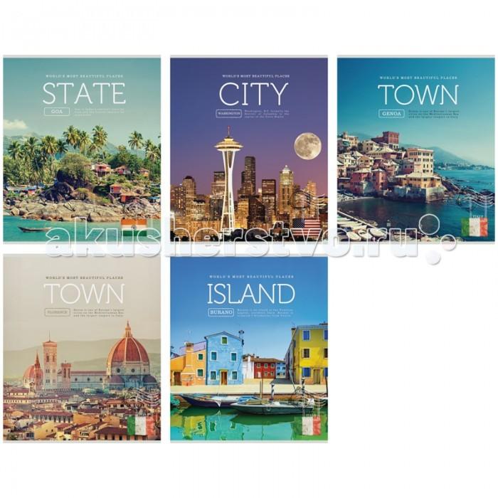 Спейс Тетрадь А5 линия Путешествия Beautiful Places (48 листов)