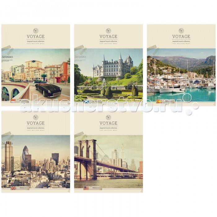 Спейс Тетрадь А5 линия Путешествия Retro voyage (48 листов)