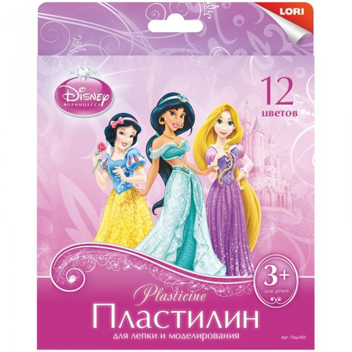 Lori Пластилин Disney Принцессы 12 цветов 240 г