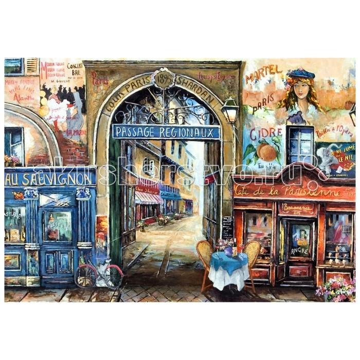 Ravensburger Пазл Улочка в Париже 1500 элементовПазл Улочка в Париже 1500 элементовRavensburger Пазл Улочка в Париже 1500 элементов 16241  Пазл Улочка в Париже от компании Ravensburger включает в себя 1500 элементов, из которых необходимо собрать цельное изображение городского пейзажа. Уже окрашенные детали головоломки, выполненные из плотного картона, легко соединяются и разъединяются между собой, что также помогает определить верное расположение того или иного кусочка рисунка.  Размер собранного поля: 80 х 60 см.<br>