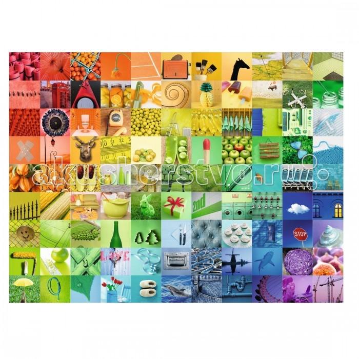 Ravensburger Пазл 99 красивых цветов 1500 элементовПазл 99 красивых цветов 1500 элементовRavensburger Пазл 99 красивых цветов 1500 элементов 16322  Пазл 99 красивых цветов - это прекрасный комплект для сборки оригинальной красочной картины. Готовая картинка состоит из множества маленьких ярких изображений: синего, розового, зеленого, желтого, сиреневого и других оттенков.  Детали пазлов выполнены из качественного картона и плотно присоединяются друг к другу без зазоров. У них есть своя определенная форма, и они подходят только на свои места. Пазл состоит из 1500 элементов.  Готовым изображением можно украсить интерьер комнаты.  Размер собранного поля: 80 х 60 см.<br>