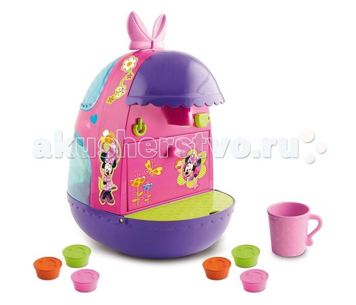 IMC toys Кофеварка Minnie DisneyКофеварка Minnie DisneyИгровой набор IMC toys Кофеварка Minnie Disney  Красочная детская кофеварка Minie с аксессуарами разнообразит сюжетно-ролевые игры вашей девочки.  Игрушка выполнена в виде разноцветной кофеварки в стиле знаменитых диснеевских мультфильмов. В наборе девочка также найдет множество аксессуаров, которые сделают ее игру еще интереснее. Игрушка оснащена реалистичными звуковыми эффектами, работает как настоящая машина.  В набор входит: кофеварка, 1 чашка и 6 капсул.  Кофеварка продается в яркой подарочной коробке и изготовлен из высококачественных материалов.  Для работы требуются батарейки.<br>