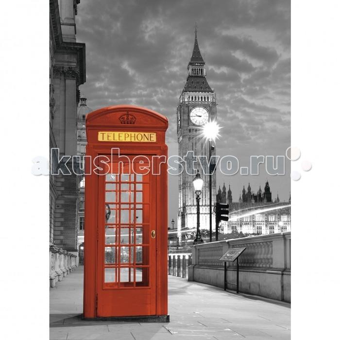 Ravensburger Пазл Биг Бен Лондон 1000 элементовПазл Биг Бен Лондон 1000 элементовRavensburger Пазл Биг Бен Лондон 1000 элементов 19475  Пазл Биг Бен, телефонная будка представляет собой комплект для сборки черно-белой картинки с одним ярким элементом. Пазл состоит из 1000 деталей. На картине можно увидеть классическую красную телефонную будку, которая выделяется на фоне знаменитой башни Биг Бен. Стрелки на часах показывают вечернее время, ярко горят фонари. Небо заволокло тучами, собирается дождь.  Элементы пазла сделаны из плотного цветного картона, каждая деталька имеет свою форму и подходит только на определенное место. Сборка пазла помогает развить координацию движений, усидчивость, наблюдательность, образное мышление и терпеливость. Готовым изображением можно украсить интерьер любой комнаты.  Размер собранного пазла: 70 х 50 см.<br>