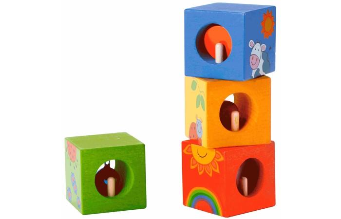 Деревянная игрушка Classic World Кубики-пазлы Волшебные кубики с сюрпризомКубики-пазлы Волшебные кубики с сюрпризомВолшебные кубики познакомят ребенка с миром животных и погодными явлениями.  В процессе игру ребенок развивает пространственное мышление а так же логику. А спрятанные внутри каждого кубика небольшие сюрпризы подарят ему радость и счастье.  Кубики изготовлены из экологически чистого дерева с использованием безопасных для здоровья ребенка красок.<br>
