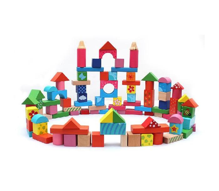 Деревянная игрушка Фабрика фантазий Конструктор Веселые картинки 100 деталей 42266Конструктор Веселые картинки 100 деталей 42266Деревянная игрушка конструктор - яркая , красочная и веселая игрушка. Конструктор для ребенка. Состоит из 100 деталей.  Из деталей,различной формы и цвета ваш ребенок сможет построить замечательный замок и каждый раз у него будет получаться не одинаковый замок. Данная игрушка позволяет развивать абстрактное мышление, позволяет развивать богатую цветовую фантазию и конструкторские способности, а также детские строительные фантазии.<br>