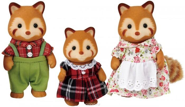 Sylvanian Families Набор Семья Красных панд 3 фигурки