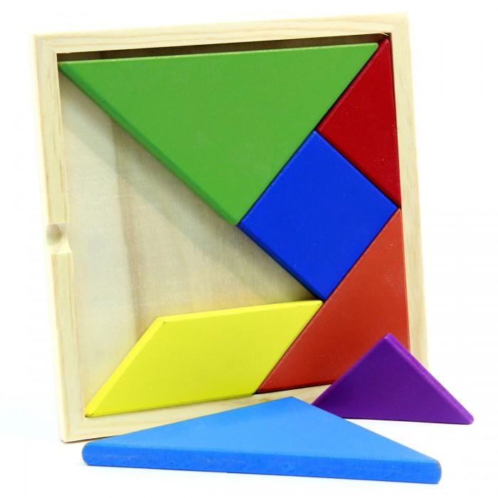 Деревянная игрушка Фабрика фантазий Фигуры цветные 7 деталей 42202