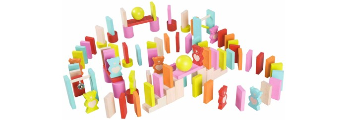 Деревянная игрушка Classic World 3D домино Доставь письмо Мишке со звуковыми эффектами