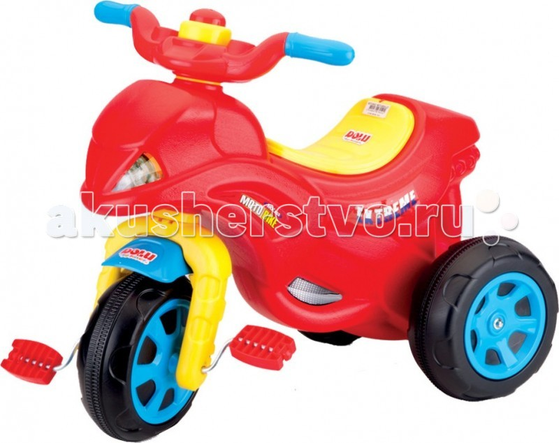 Педальные машины Dolu Мотоцикл
