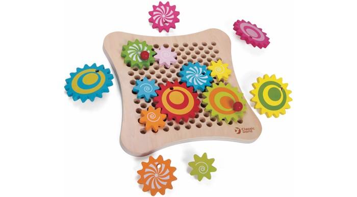 Деревянная игрушка Classic World развивающая игра Весёлые шестерёнки
