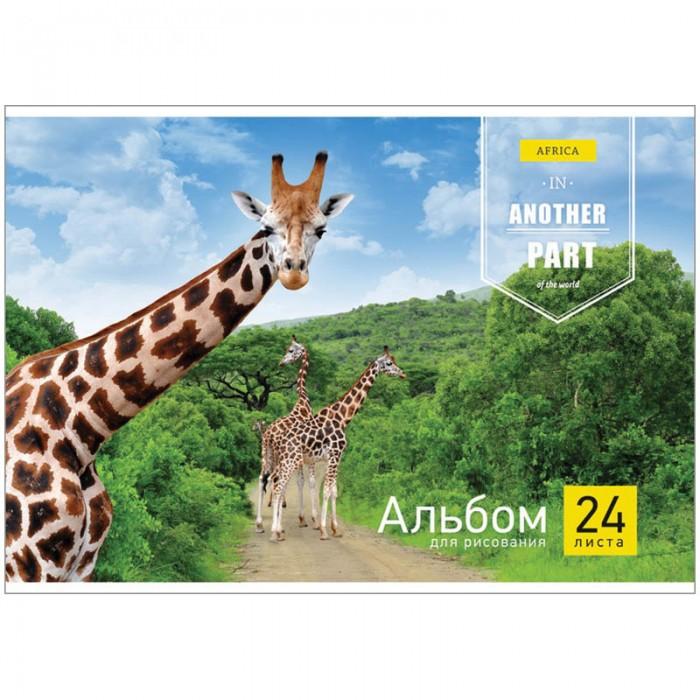 Спейс Альбом для рисования Животные Another part 24 листа