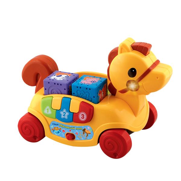 Каталки-игрушки Vtech Обучающая пони  80-111126