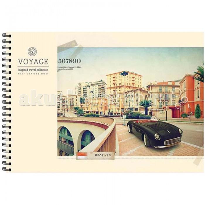 Спейс Альбом для рисования Города Retro Voyage 40 листов