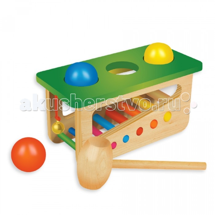 Музыкальная игрушка Фабрика фантазий Забивалка-ксилофон 47489