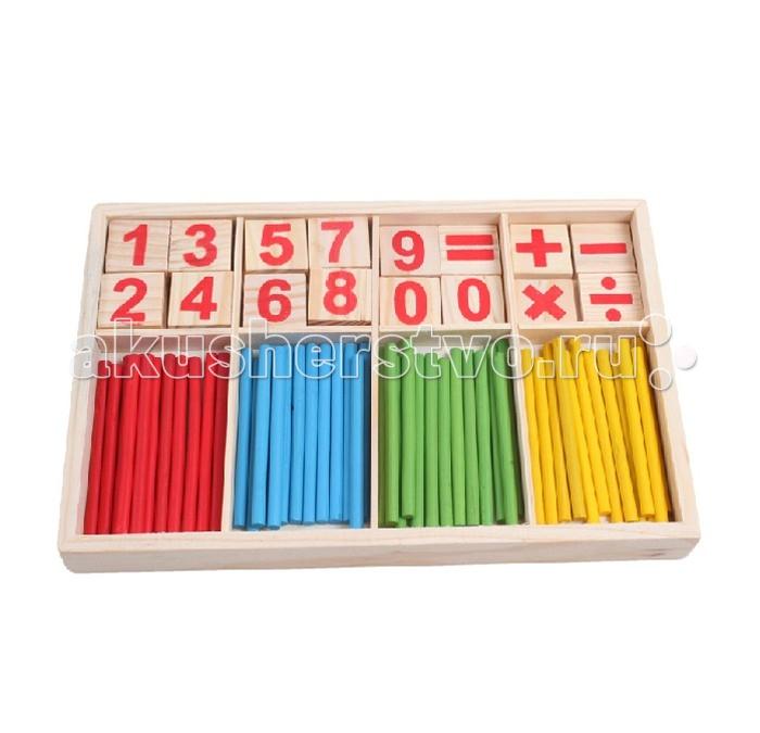 Деревянная игрушка Фабрика фантазий Логический набор Счет 47491