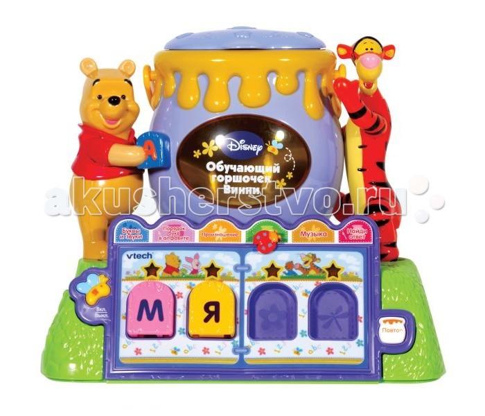 Электронные игрушки Vtech Обучающий горшочек Винни 80-065326