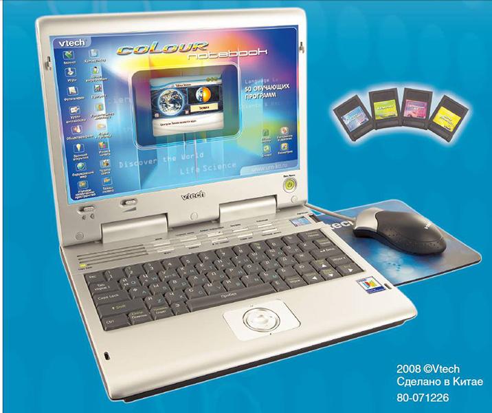Электронные игрушки Vtech Обучающий компьютер Color LCD Notebook 80-071226