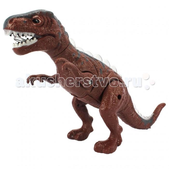 Интерактивная игрушка Yako Динозавр (движение, свет, звук) Y19589007Динозавр (движение, свет, звук) Y19589007Многие дети обожают динозавров. И им несомненно придется по нраву этот интерактивный динозавр от компании Yako Toys.   Игрушка имеет небольшой вес, компактный размер, световые, звуковые и динамичные эффекты. Динозавр качает головой, поворачивается в разные стороны, передвигается по ровной поверхности, издает звуки, похожие на рычание.   Играя с такой игрушкой можно придумать разные сюжетные линии и окунуться в доисторический мир эры динозавров!  Игрушка Динозавр изготовлена из качественного пластика, который абсолютно безопасен для здоровья человека.<br>
