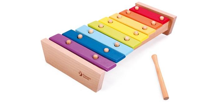 Музыкальная игрушка Classic World Ксилофон Музыкальная радуга
