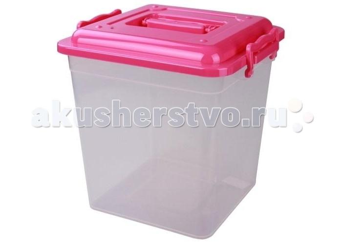 Альтернатива (Башпласт) Контейнер квадратный 12 лКонтейнер квадратный 12 лКонтейнер квадратный 12 л  Универсальный контейнер с крышкой, с ручками замочками. Контейнер прозрачный, удобный и вместительный, легкий и компактный. Изготовлен из экологически чистого пластика.  Ребенок сможет самостоятельно складывать в контейнер свои игрушки, одежку.  Размеры : 26,1*28,2*28 см. Объем 12 л.<br>