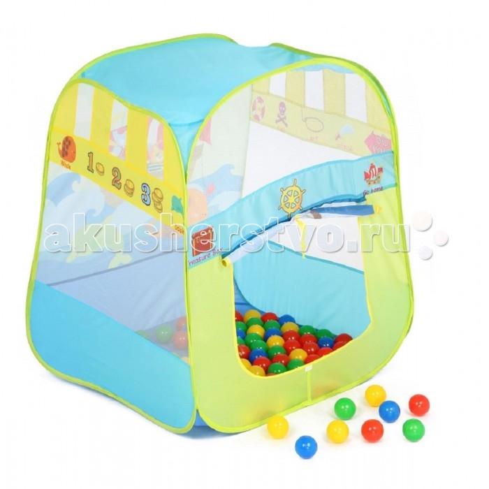 Bony Игровой домик с тоннелем с шариками Пиратский корабль