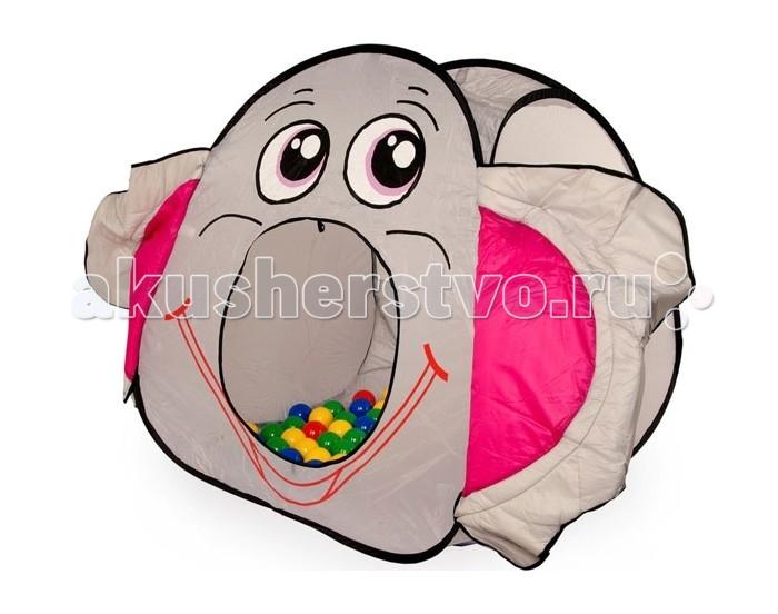 Bony Игровой домик с тоннелем с шариками Слон