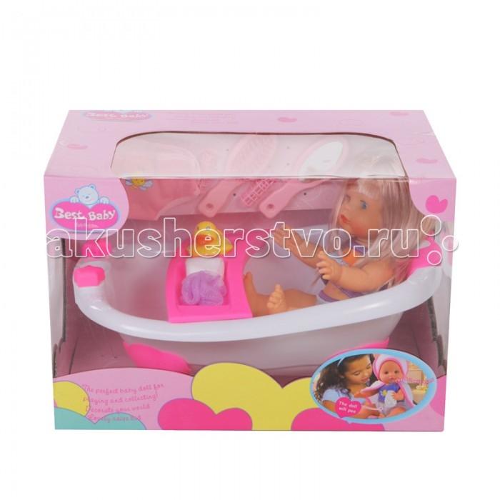 Yako Кукла в ванне 35 смКукла в ванне 35 смYako Кукла в ванне 35 см  Эта кукла - настоящая чистюля, она припасла с собой целый набор аксессуаров для гигиены и ухода за волосами. Миниатюрная ванна со специальной полочкой и опорой для спины, а также мочалка и мыло позволят девочке устроить кукле полноценное купание, а расческа и зеркальце пригодятся при создании новых причесок. Также кукла может имитировать жизнедеятельность человека, она пьет и избавляется от выпитого естественным способом.  Возраст: от 3 лет Высота пупса: 35 см Комплект: кукла, аксессуары.<br>