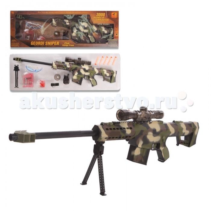 Yako Игрушечная Снайперская винтовка с мягкими пульками Y4416854