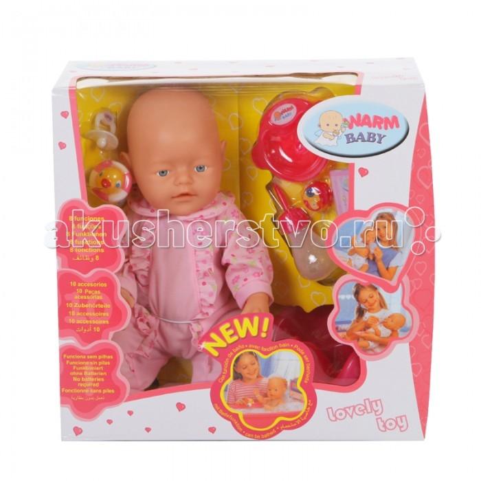 Yako Пупс интерактивный 40 см Y16203171Пупс интерактивный 40 см Y16203171Yako Пупс интерактивный 40 см Y16203171  Интерактивная кукла максимально приближена к настоящему младенцу: девочки смогут не только укладывать спать и переодевать пупса, но и кормить, поить его. Данная игрушка для девочек также может плакать и ходить на горшок, который входит в комплект. К функциональному пупсу прилагаются и другие аксессуары, с которыми игра в Дочки-матери станет только интересней.   Возраст: от 3 лет Высота куклы: 40 см Наличие батареек: не входят в комплект<br>