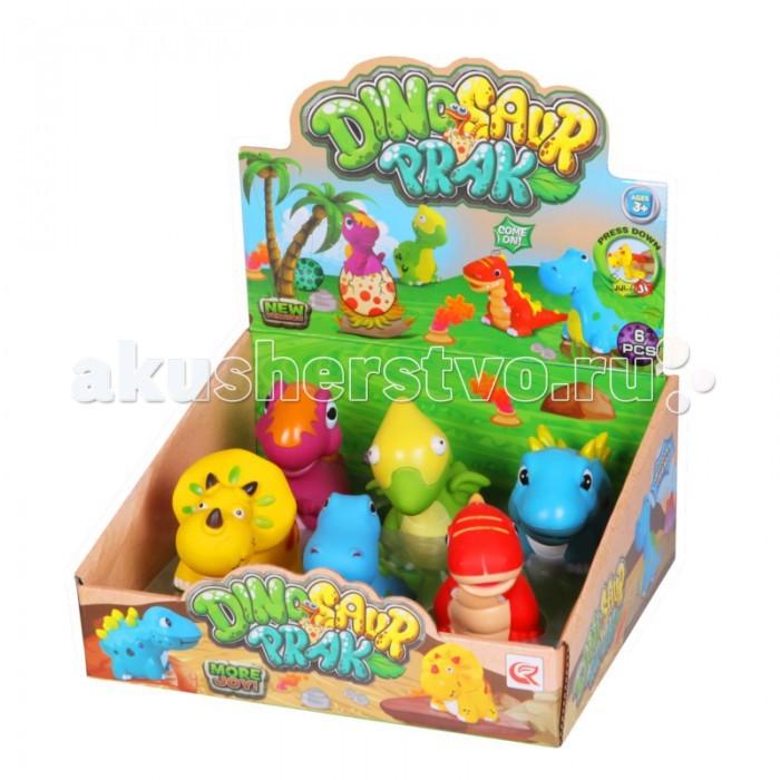 Yako Набор игрушек с пищалкой Y13114567Набор игрушек с пищалкой Y13114567Набор игрушек от Yako, сделает купание Вашего малыша весёлым и увлекательным и подарит огромное удовольствие от игры!  Все динозаврики с пищалками, что еще больше заинтересует малыша.<br>