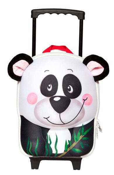 Сумки для детей Wild Pack Чемодан-тележка Панда