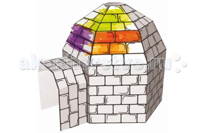Раскраска Kids4kids Картонный домик для раскрашивания ПещераКартонный домик для раскрашивания ПещераПещера это картонный домик для раскрашивания ребенком.  Этот домик позволит ребенку почувствовать себя настоящим дизайнером, в процессе игры помогает развивать фантазию и воображение. Он легко собирается и при желании переносится, а значит его можно взять с собой на улицу и раскрасить вместе с друзьями.  Домик изготовлен из экологически чистого материала, безопасного для здоровья ребенка.<br>