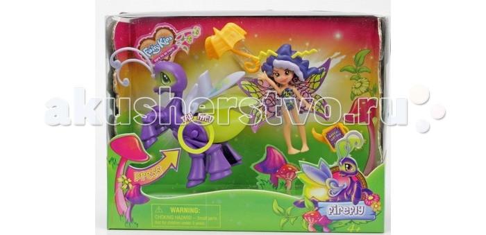 Fairykins Игровой набор - Фея Вольтесса и Светящийся МотылекИгровой набор - Фея Вольтесса и Светящийся МотылекИгровой набор - Фея Вольтесса и Светящийся Мотылек порадует ребенка яркими красками Волшебного Леса. Улыбающаяся милая Фея Вольтесса с яркими крыльями имеет в своем распоряжении яркие аксессуары, а Светящийся Мотылек действительно светится – достаточно нажать кнопку на туловище и он засветится ярким светом. Изготовленные из качественной пластмассы, фигурки в красочной прочной упаковке станут хорошим подарком маленьким волшебникам.  Комплектация набора:   Фея Вольтесса; Светящийся Мотылек (если нажать ему на брюшко, то он начнет светиться); Аксессуары для Феи; Батарейки: 3 шт. типа AG3/LR41.  Основные характеристики:  Размер упаковки: 21 х 6 х 16 см Высота фигурки: 9 см<br>