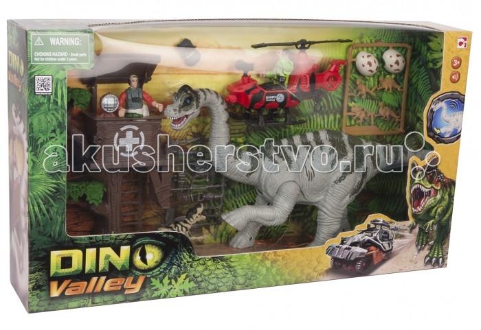 Chap Mei Игровой набор Dino Valley - Станция наблюдения за Дикреозаврами