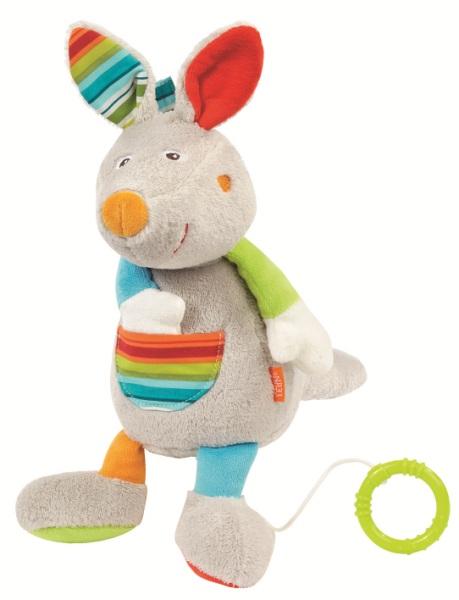Мягкие игрушки Fehn Кенгуру Веселые каникулы