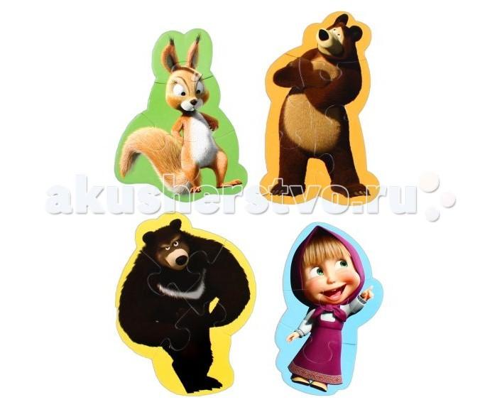 Vladi toys Пазлы мягкие Baby puzzle Маша и Медведь Белка (15 элементов)Пазлы мягкие Baby puzzle Маша и Медведь Белка (15 элементов)Vladi Toys Пазлы мягкие Baby puzzle Маша и Медведь Белка (15 элементов)  приведет в восторг юных любителей головоломок.   В наборе представлены 4 изображения, которые разделяются на 3-4 части, поэтому проблем со сборкой картинки у малыша не возникнет. Ребенок сможет собрать паровоз, самолет, парусник и машину.   Пазлы довольно крупного размера, что значительно облегчит сборку малышу.   Примечательно, что при изготовлении пазлов использовался изолон. Этот материал намного прочнее картона, поэтому картинки не будут мяться и ломаться.<br>