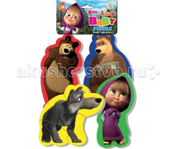Vladi toys ����� ������ Baby puzzle ���� � ������� ���� (15 ���������)