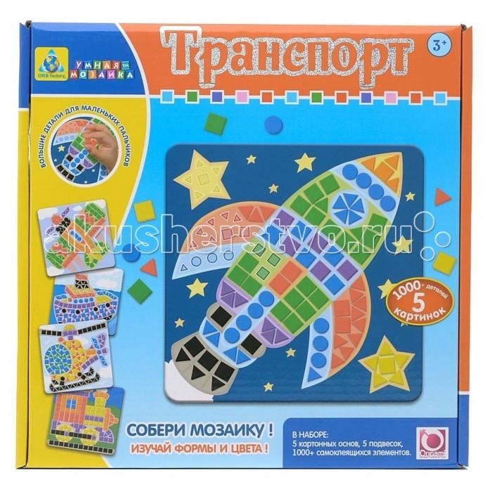 ORB Factory Мозаика-набор для малышей Транспорт 5 шт. 00421