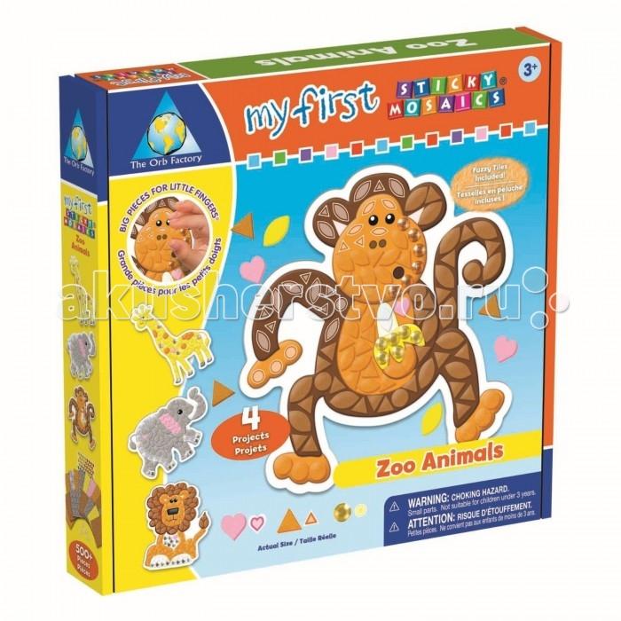 ORB Factory Мозайка-набор для малышей  Зоопарк 4 шт. 00422