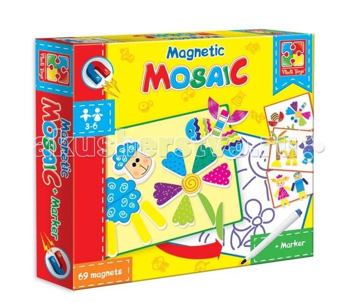 Vladi toys Мозаика магнитная Овечка (69 деталей)