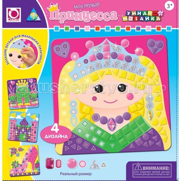 ORB Factory Мозайка-набор для малышей Принцесса 4 шт. 05073