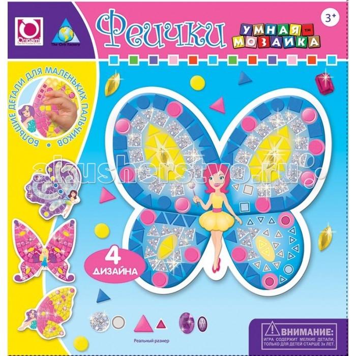 ORB Factory Мозайка-набор для малышей Феечки 4 шт. 05071